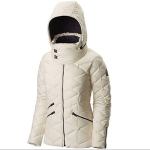 Sorel winter pecaut jacket coat wool cream medium
